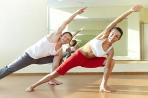 Women & Men private yoga class